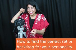 How to find the perfect set or backdrop for your personality?